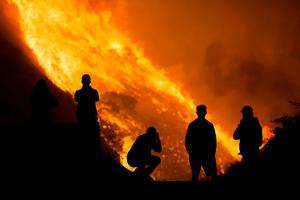 Wind-driven Southern California wildfires prompt mass evacuations