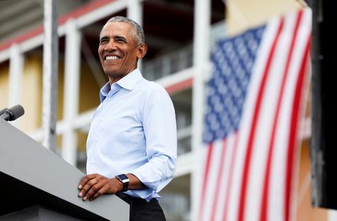 Obama stumps for Biden