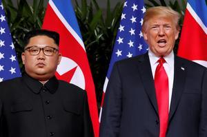 Key events in North Korea-U.S. ties during the Trump presidency