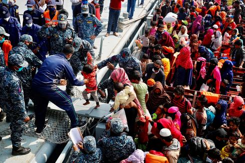 More Rohingya sent to Bangladesh island
