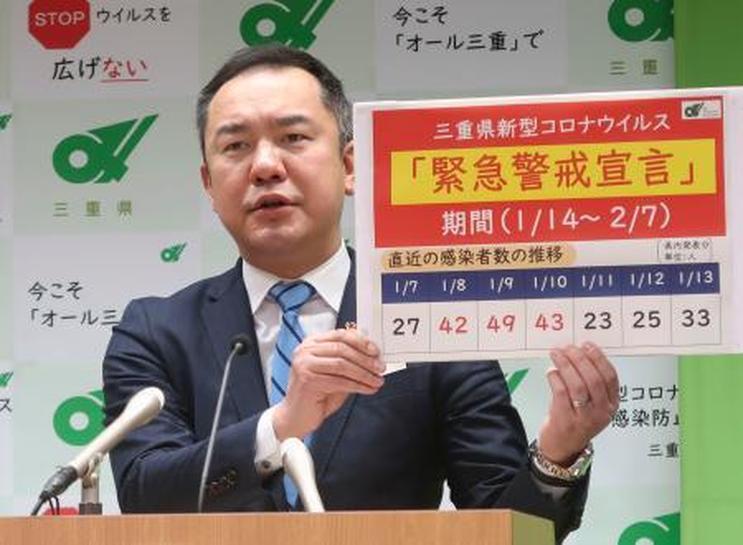 三重 県 コロナ ウイルス 感染 者