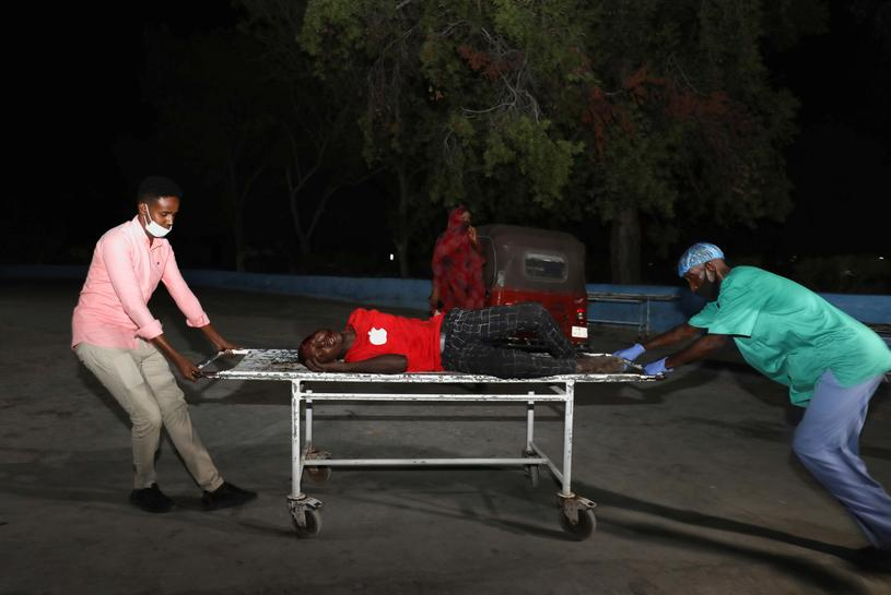 At Least 20 People Killed, 30 Wounded by Suicide Car Bomb Outside Restaurant in Somalia's Capital of Mogadishu