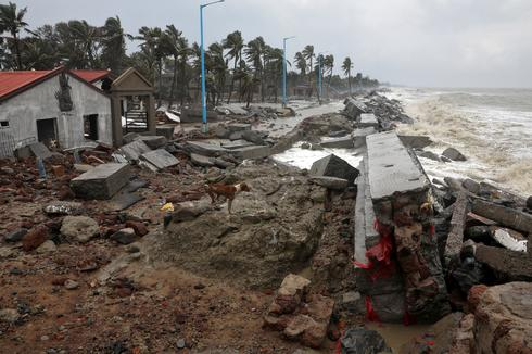 Cyclone Yaas leaves trail of destruction in eastern India