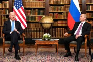 Biden and Putin meet in Geneva for summit