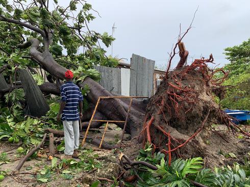 Tropical Storm Elsa sweeps through Caribbean