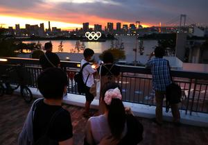 Scenes from Tokyo before a spectator-free Olympics