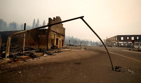 Historic California town leveled by Dixie Fire