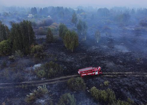 World on fire: Wildfires rage across the globe